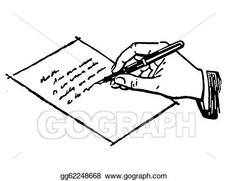 Letter clipart black and white 7 » Clipart Station