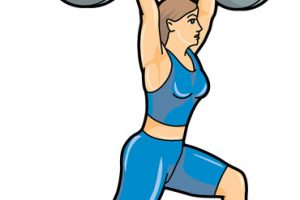 lifting weight clipart 1