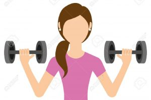 lifting weight clipart 7