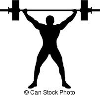 lifting weight clipart