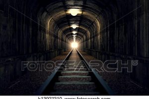 light at the end of the tunnel clipart 6