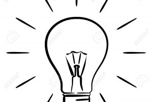 Light Bulb Clipart Black And White Images On Page 0 | Yanhe Clip Art intended for Lightbulb Clipart Black And White