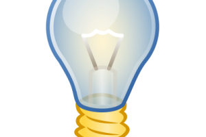 light bulb clipart no background 2