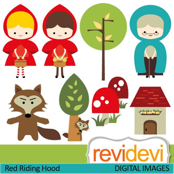 Little Red Riding Hood Clipart 1 Clipart Station