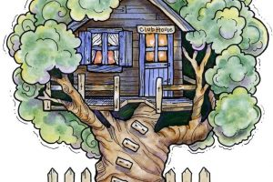 Magic Tree House Clipart Clipart Station