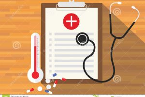 medical record clipart 3