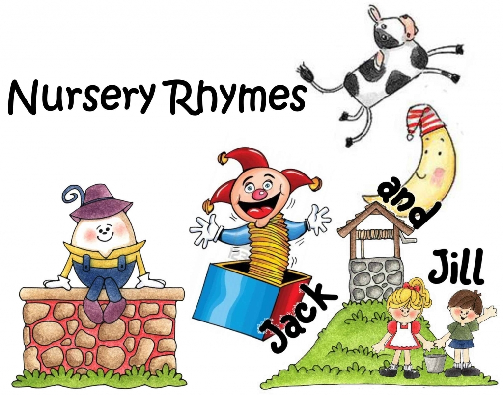 Nursery Rhymes In Early Childhood Education throughout Nursery Rhymes  Clipart with regard to Desire » Clipart Station