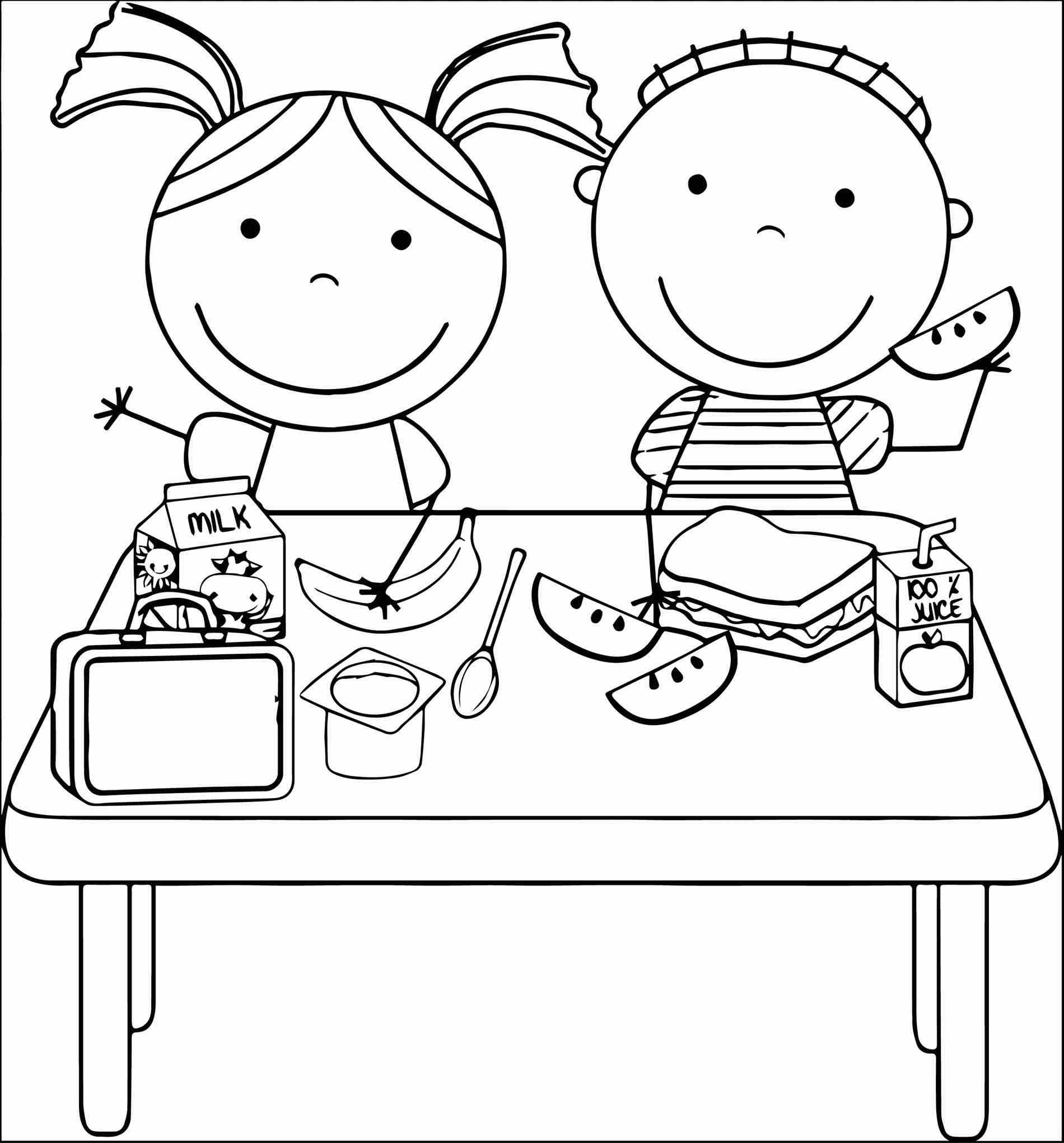 Nutritious food clipart black and white 2 » Clipart Station