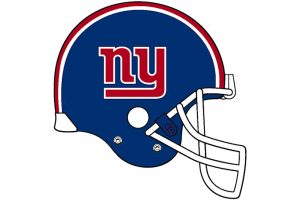 ny giants helmet clipart