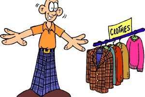 old clothes clipart 5