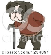 old dog clipart 3