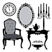 old furniture clipart 2