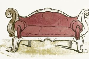 old furniture clipart
