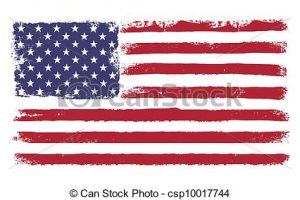 old glory clipart 6