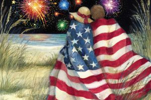 old glory clipart 7