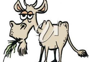 old goat clipart 2