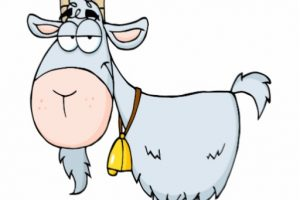 old goat clipart 3