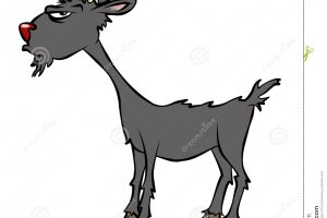 old goat clipart 5