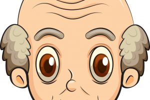 old man face clipart 2