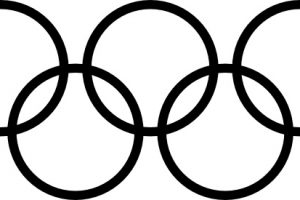 olympic rings clipart free 1
