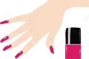 Painting Nails Clip Art