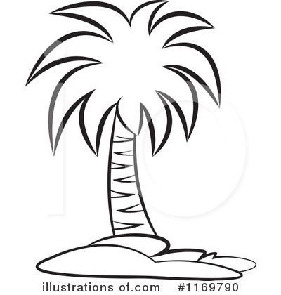 Palm Tree Clip Art Black And White Palm Tree Clipart Black And For