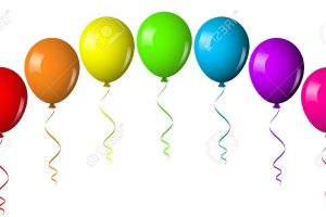 birthday party balloons clipart Best of Best Birthday Balloons Clipart Clipartion