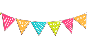 Party banner. Clipart station