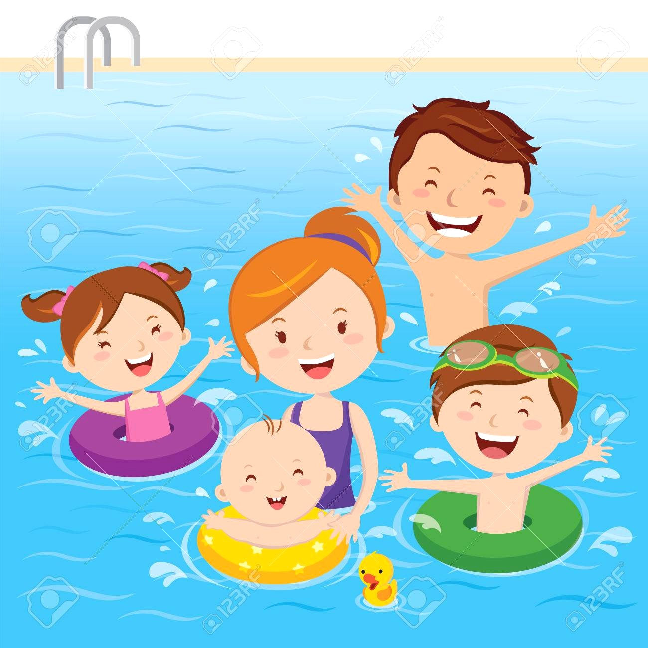 People swimming clipart 2 » Clipart Station