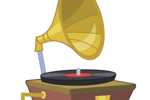 phonograph clipart