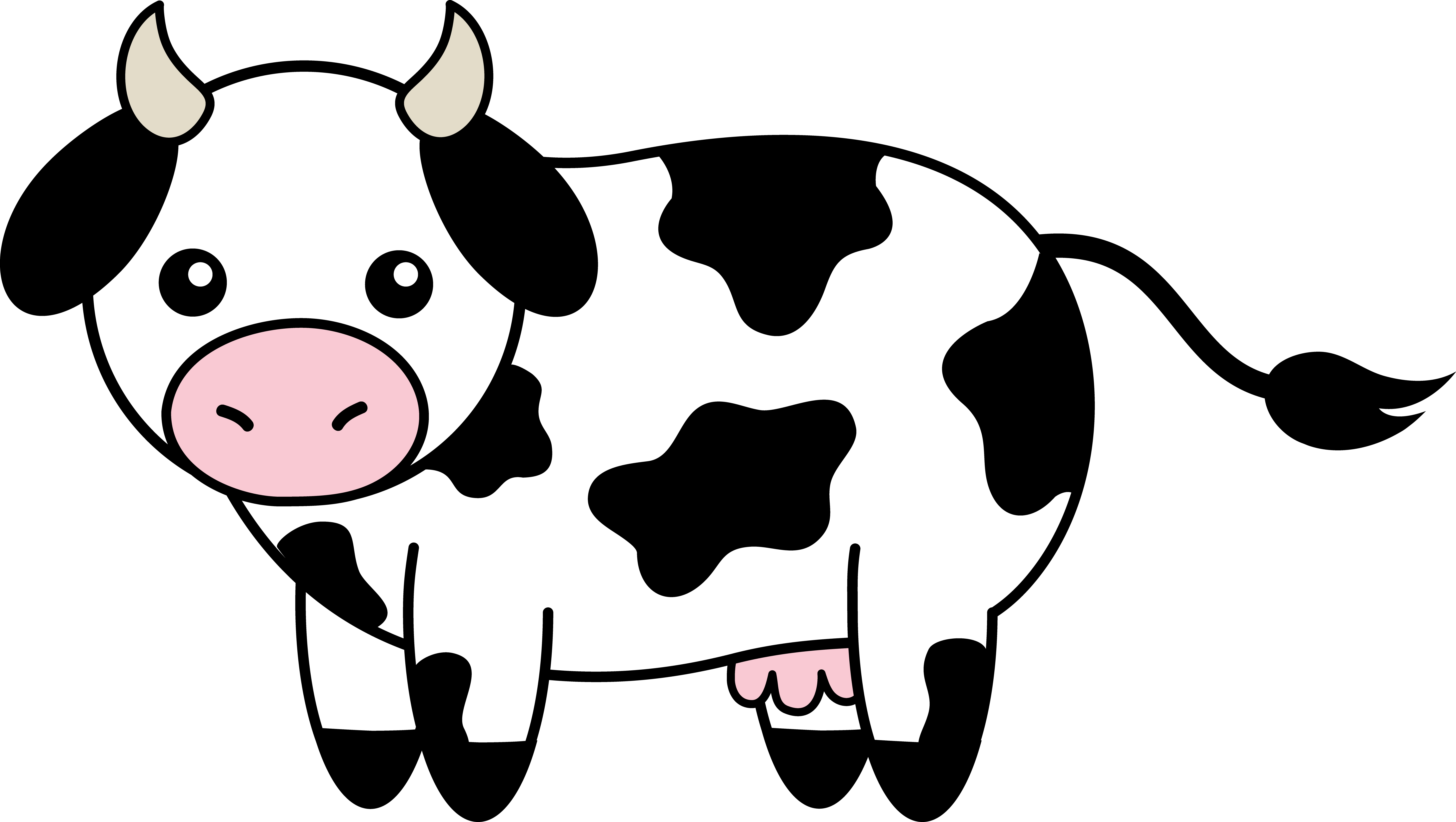 picture of cow clipart 3