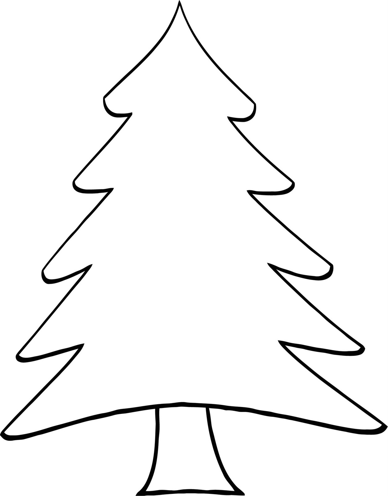 Pine Tree Clipart Black And White Best Of Pine Tree Cartoon Clipart
