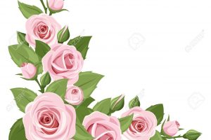 pink roses clipart free 2