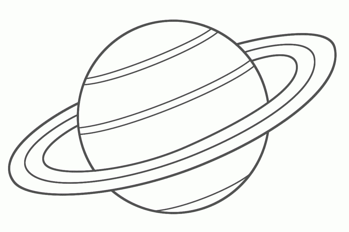 Planet white PNG File.