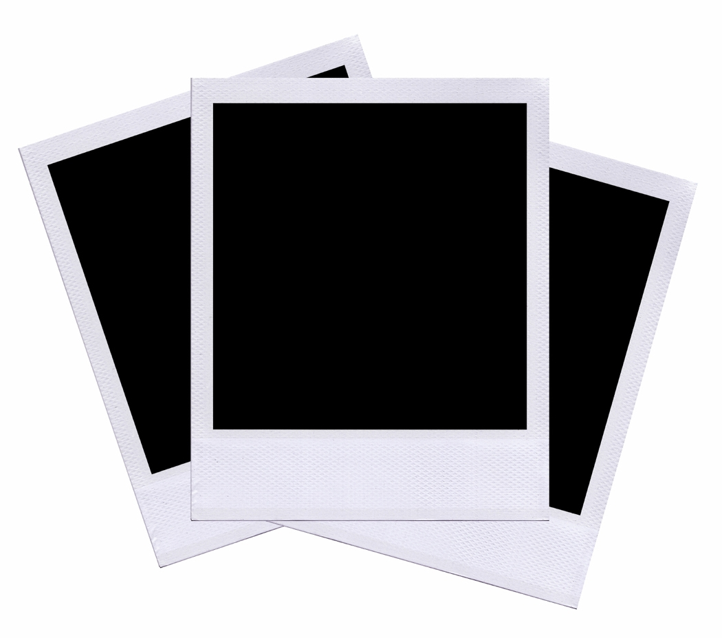 Picture polaroid. Clipart station