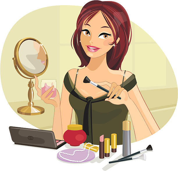 Putting On Makeup Clipart 7  Clipart Station-2933