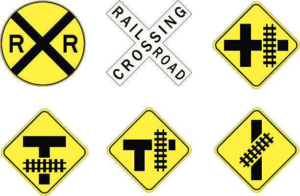 Railroad crossing sign clipart 2 » Clipart Station (612 x 399 Pixel)