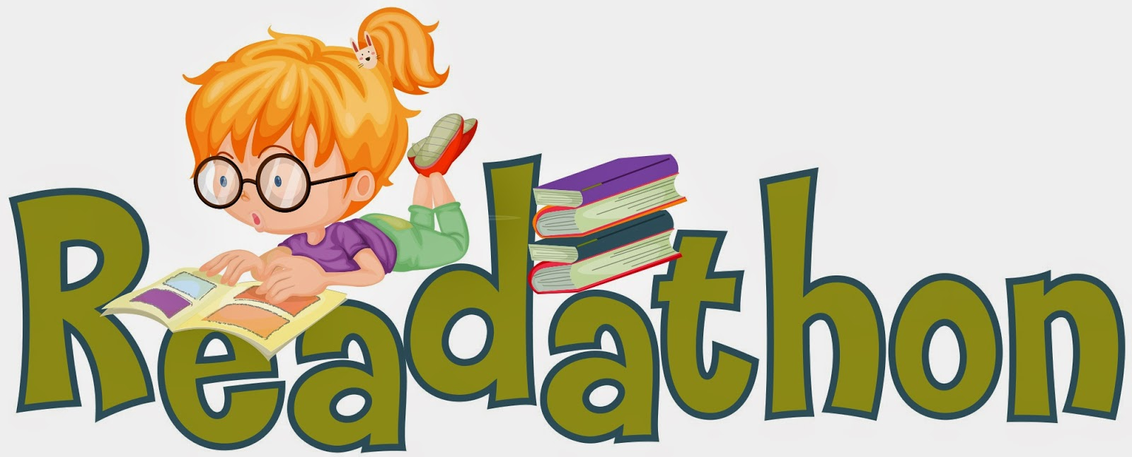 Image result for read-a-thon clip art