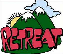 Image result for retreat clipart