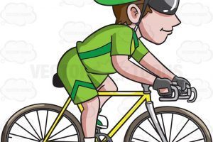 ride a bike clipart