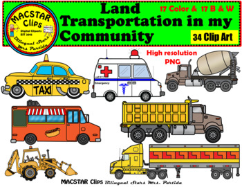 Road transport clipart 5 » Clipart Station