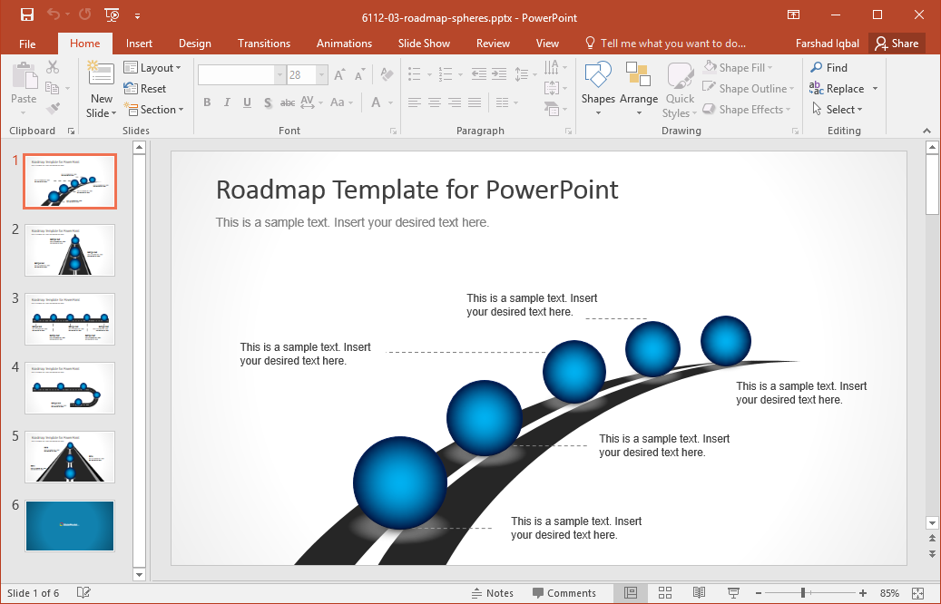 Roadmap clipart powerpoint 3 » Clipart Station