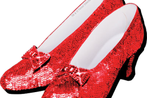 ruby red slippers clipart 1
