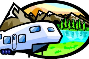 rv camping clipart 2