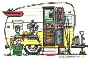 rv camping clipart 3