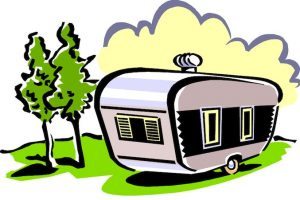 rv camping clipart