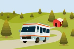 rv camping clipart 7