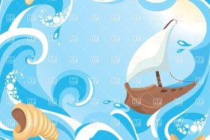 sea background clipart 7