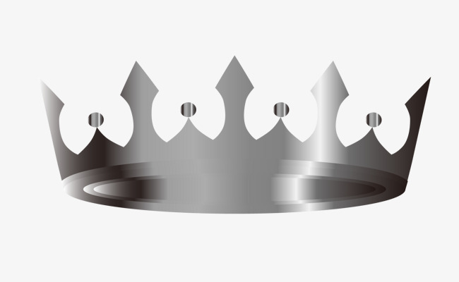 Crown silver. Clipart station