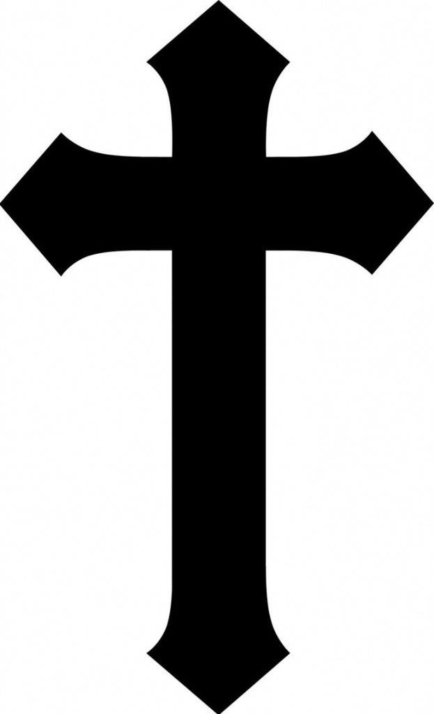 Cross simple. Clipart station